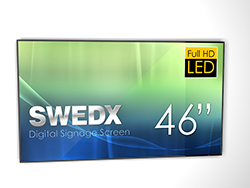 "DEMO - SWEDX Digital Signage Screen 46"" Full HD"