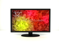 SWEDX 32 inch UHD-4K LED Screen. Pixel Policy 2