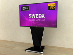 SWEDX Universal TV-Stand. Glossy Black. 956 mm