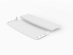 "SWEDX Lamina 40"" Front/Back Shelf - White"
