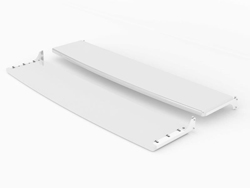 "SWEDX Lamina 58"" Front/Back Shelf - White"