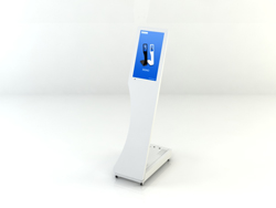 SWEDX Signo Touch Stele 39,6 cm (15,6 Zoll) - Weiß